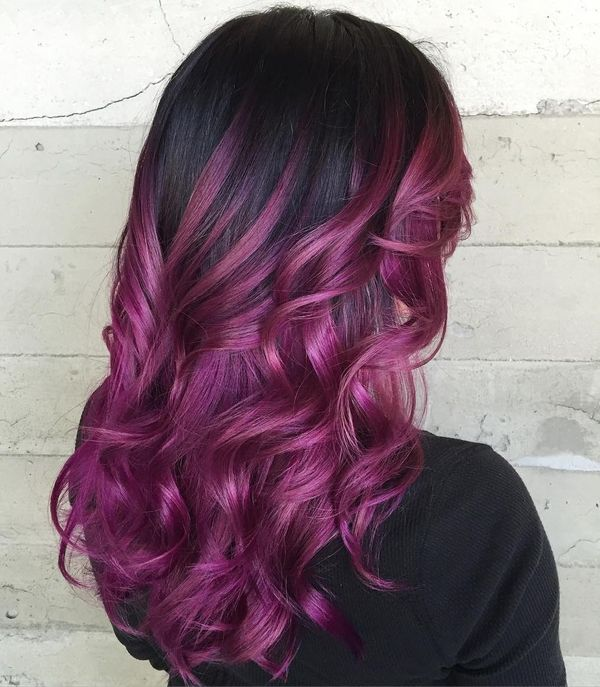 Check These Three Hair Styles With Red Highlights 2
