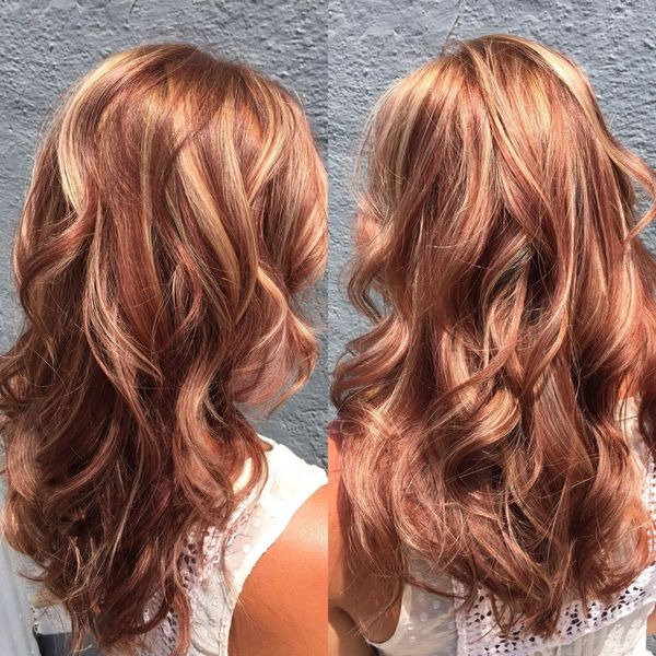 Great Blonde Hair Cuts With Red Highlights 2