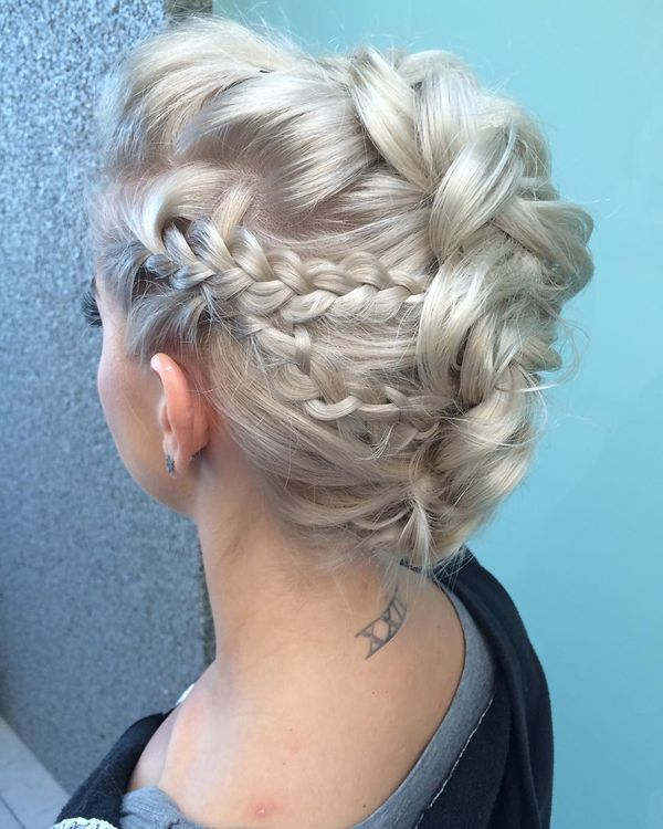 Fancy Updo Hairstyles for Long Hair 4