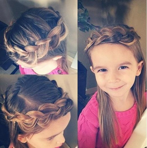 Simple One Braid Styles for Kids 2