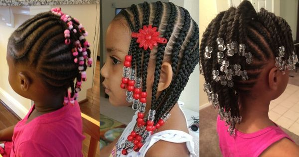 Children's Braids: Black Hairstyles 2