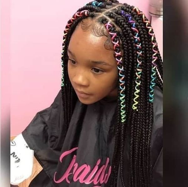 Children's Braids: Black Hairstyles 1