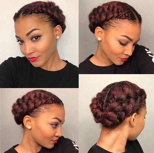 The Best Braided Updos for Natural Hair 2