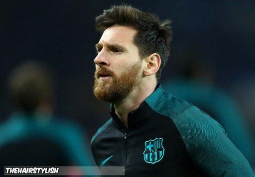 Platinum Haircuts For Lionel Messi