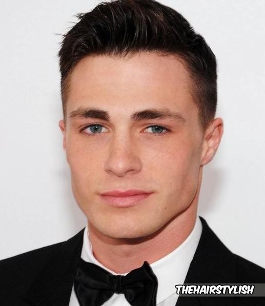 Colton Haynes Haircut