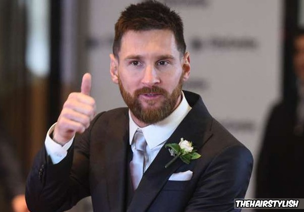 Lionel Messi Soccer Player Haircut