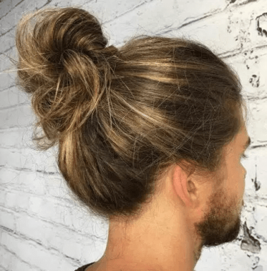 Classic Full Bun for Long Hair