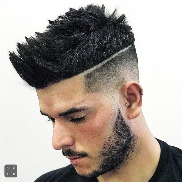 Brushed Up Taper Fade-mens haircut trends 2020-2020 hair trends men-2020 men's hair trends-men's hair trends 2020