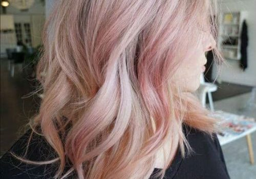 Pink-Hair-Color-on-Mid-Length-Layered-Hair-for-Girls-and-Women