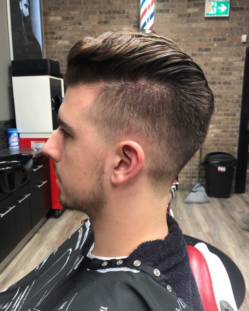 Men's hairstyles 2020-Men's haircuts 2020-hairstyles for men 2020- Slick Back Pompadour 2020- Slick Back Pompadour styles 2020