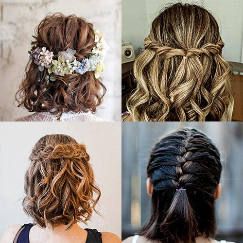 25 braid ideas for short hair women