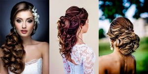 6 Glamorous wedding hairstyles for a charming bride
