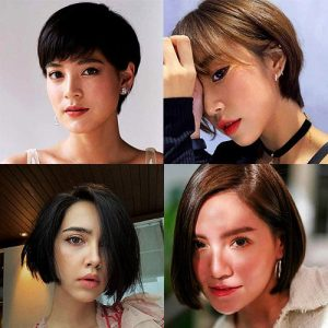 9 Short Haircuts for Women from Female Celebrities .