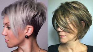 Short layers Haircuts For women collection to update women with the latest trends of short layered haircuts and also short layer hairstyles.