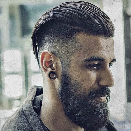 High Fade With Long Hair-Fade haircuts for men-men's fade haircuts-men's haircuts #menshair #menshaircuts