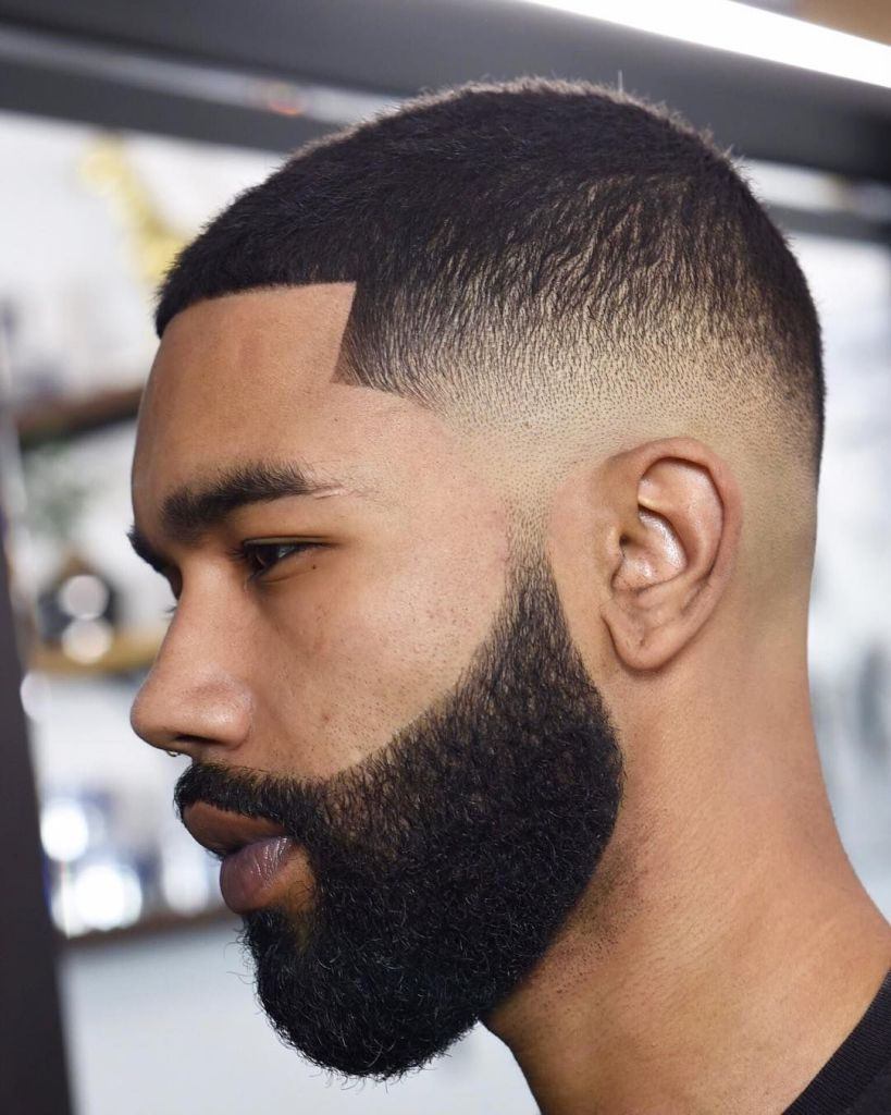 Mid Fade Haircut -Fade haircuts for men-men's fade haircuts-men's haircuts #menshair #menshaircuts