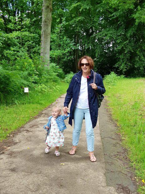 toddler and gran wakehurst place