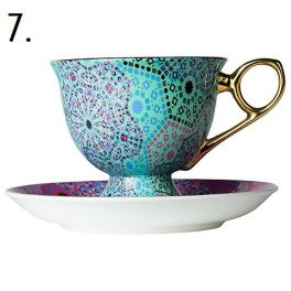 Moroccan cup and saucer