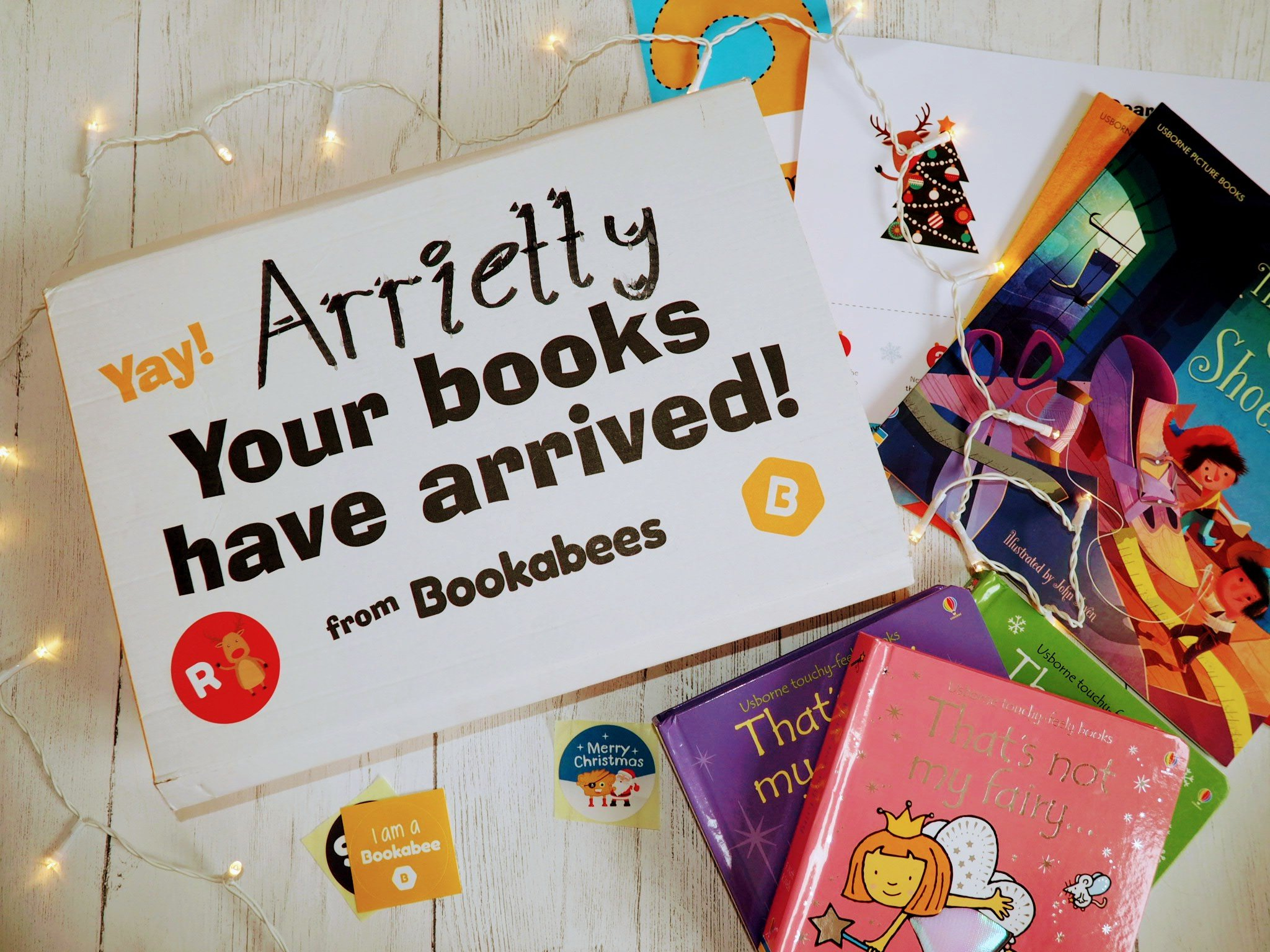 Bookabees book package