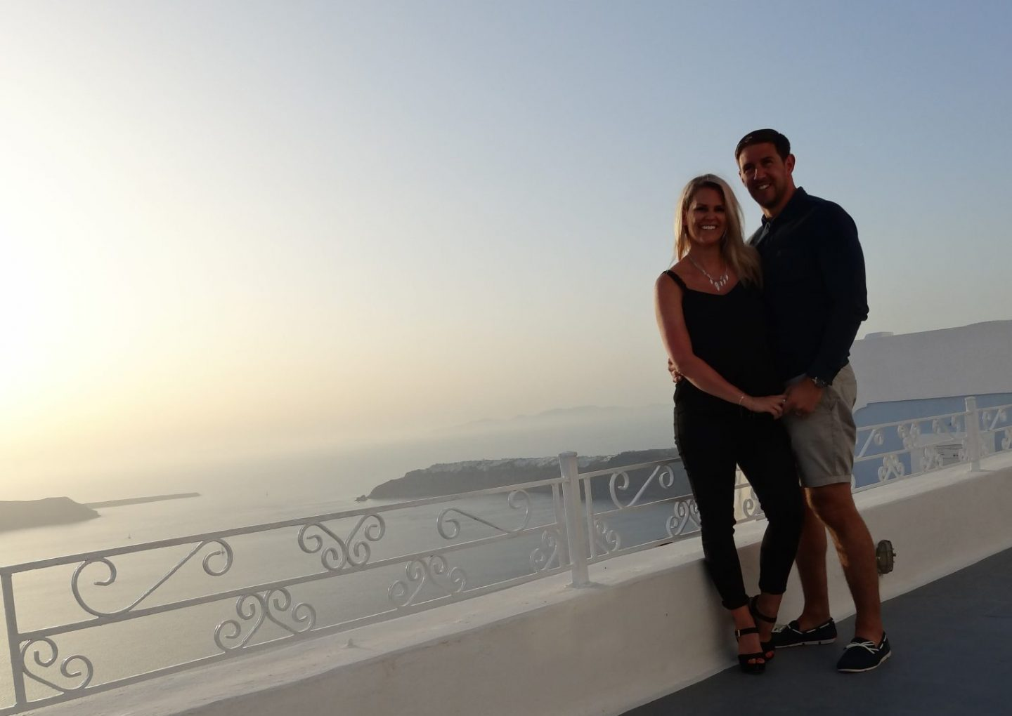 Babymoon Complete Guide to Santorini | Ettie and Me