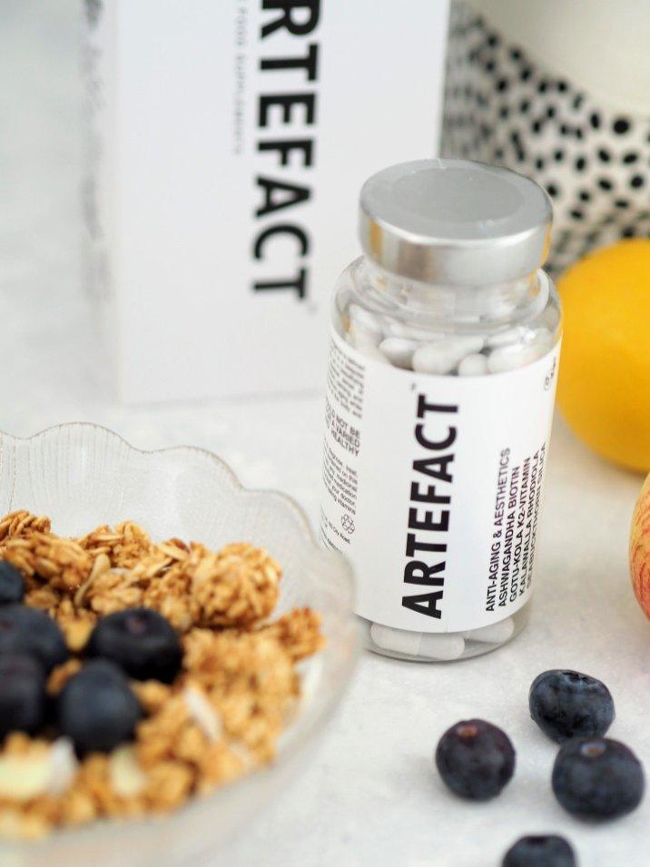 Artefact vegan anti ageing food suppliment