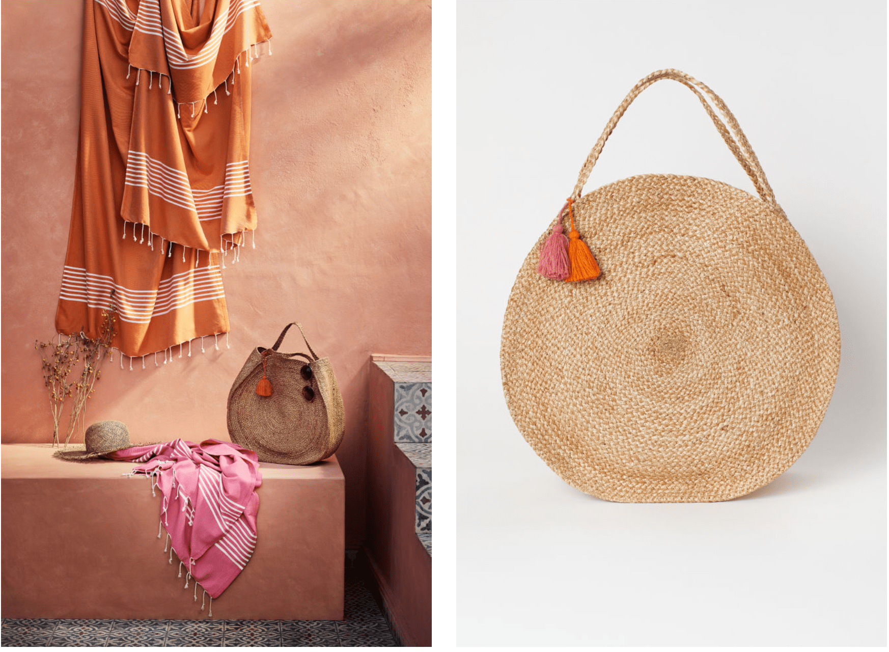 oversized jute bag | Mum Friendly accessories for Spring | The Halcyon Years