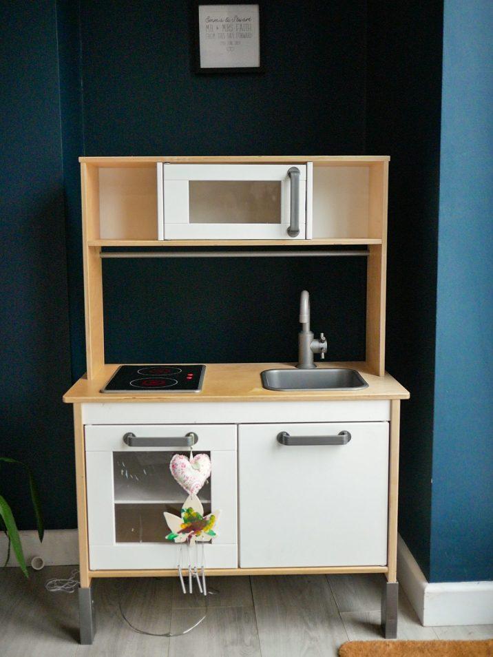 Ikea Duktig play kitchen in white
