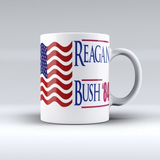 1984 presidential election mug