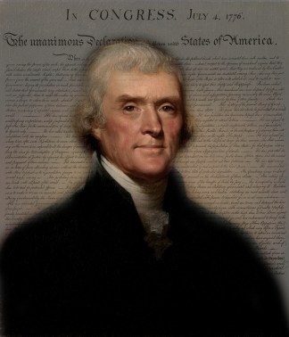 President Thomas Jefferson Poster