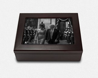 President Trump Large Keepsake Box