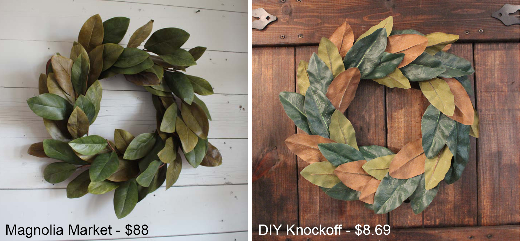 this wreath took about 30 minutes which isnu0027t bad at all it took me longer to write up the blog than it did to make the wreath itself