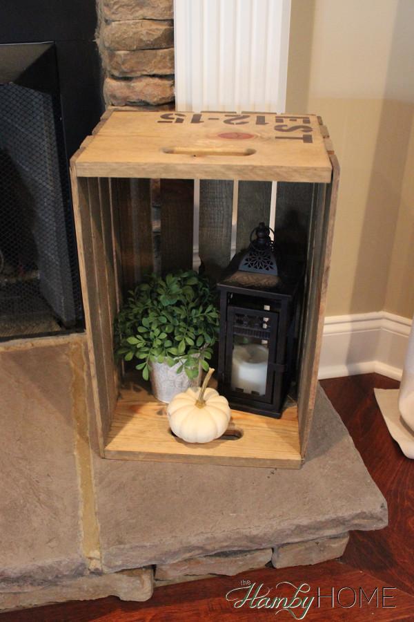 Seasonal Crate Decor The Hamby Home