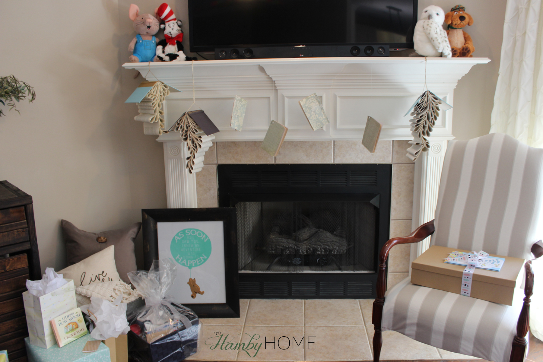 Book Themed Baby Shower The Hamby Home