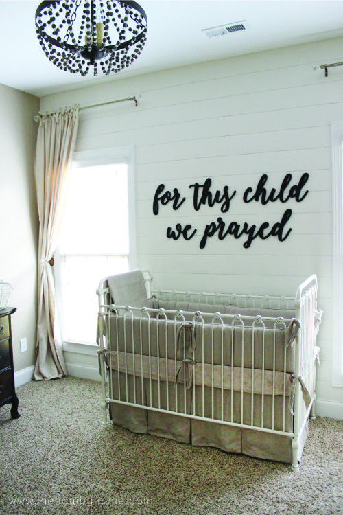 Nursery Wall Quote and Tips to Hang it2