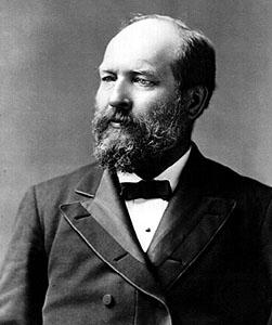 President Garfield 1881