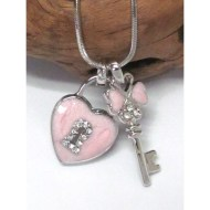 whitegold-palting-crystal-and-epoxy-key-and-heart-lock-dual-pendant-necklace