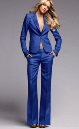 new-fashion-royal-blue-women-tuxedos-suits