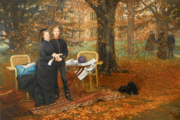 23-limperatrice_eugenie_et_son_fils_-_1878_-_james_tissot-public-domain-image