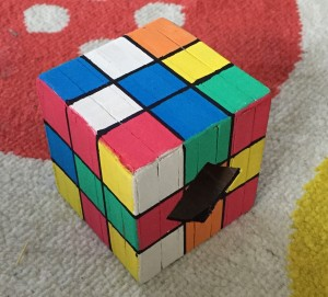 a finished Novelty Rubik's Cube