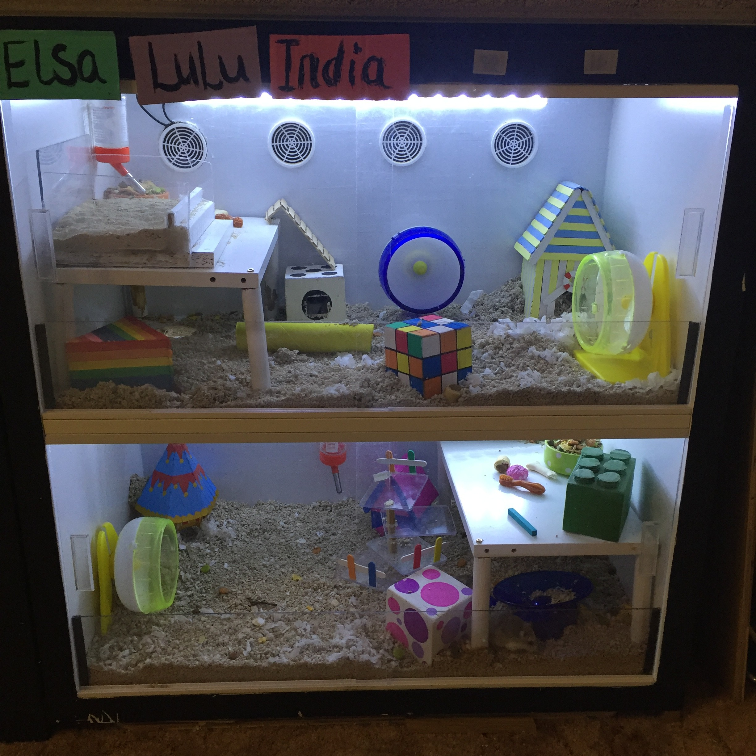 Make an amazing ikea hamster cage the hamster hut for How to build a hamster cage