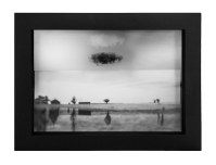 Heather Ross, Dreaming in Two, Archival pigment print and photo transfer. http://hrossphotography.com/home.html