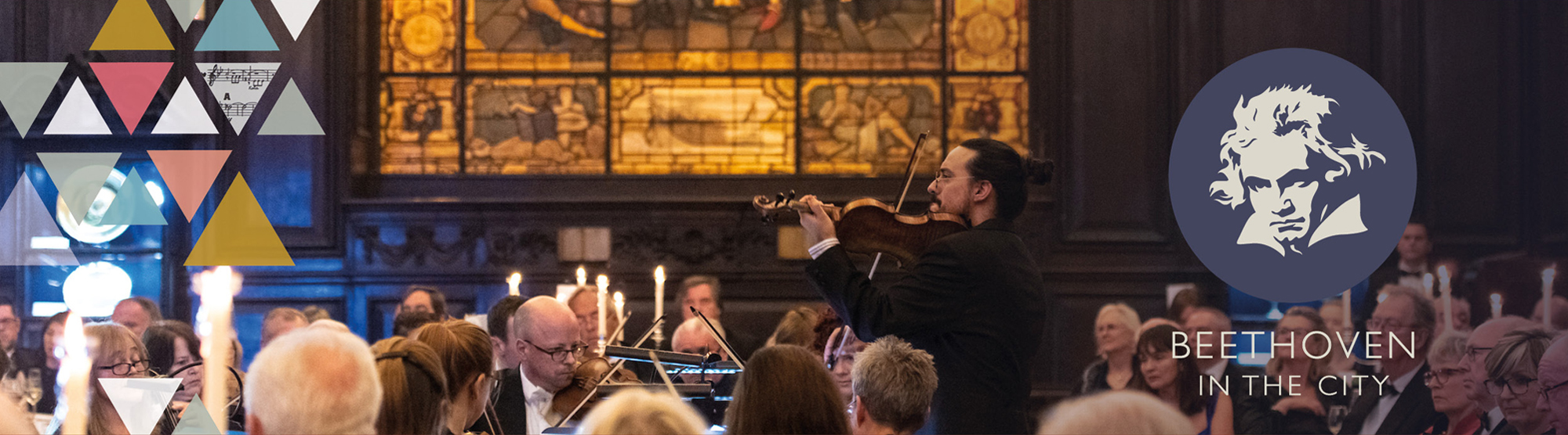 Image of orchestra performing in london