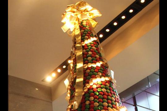 El árbol de navidad más dulce del mundo