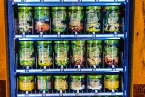 Las vending machines que te ayudarán a no romper la dieta