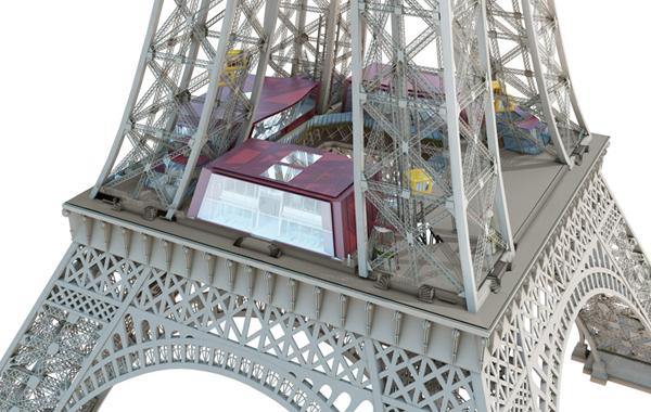 El nuevo primer piso de la Torre Eiffel - 110