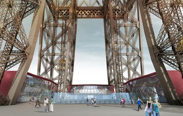 El nuevo primer piso de la Torre Eiffel - 61