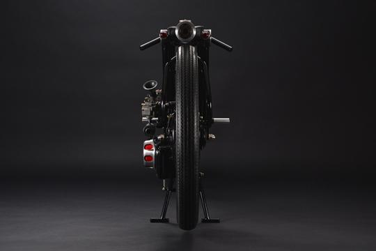 La motocicleta que esconde una cámara de seguridad