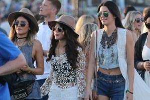 Las celebridades aman Coachella