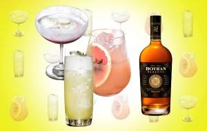 Prepara deliciosos drinks con el exclusivo ron Botran