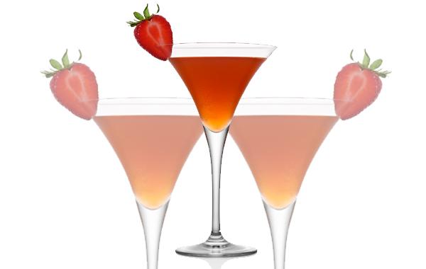 Monday's Tea: Tisana de Fresa y Mango ¡en martini!